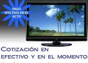 Compra venta tv televisor led lcd usados 4743-4034 pagamos mas y en el acto