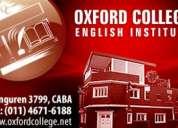 Curso de inglés oxford college floresta
