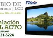Service touchscreen tablet titan 7009 -7010-9701 lcd apad congreso