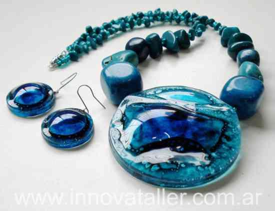 d7030cba1eeb Joyas Accesorios y Bijouterie en vidrio ventas mayoristas Innova ...