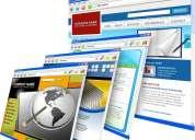 Empresarios en plataforma de negocios