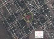 Vendo lotes  zona malargue, sobre r40 pasando cementerio zona en plena urbanizacion
