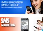 Sms marketing. promocione su comercio, producto, evento o servicio
