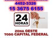 Cerrajeria 24 hs san justo urgencias -1536756155