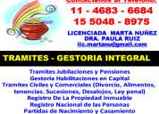 Gestoria civil y comercial floresta 15-5048-8975