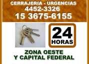 Cerrajeria 24hs urgencias castelar 15-36756155