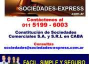 Constitucion de sociedades tribunales - 5199-6003