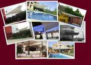 Toldos vela,garage antigranizo,jardines,terrazas