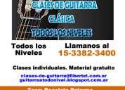 Clases de guitarra clasica palermo pablo pellegrini
