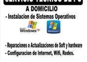 Caballito-servicios informaticos-reparacion- pc-notebooks- a domicilio en caballito