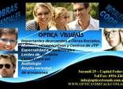 Optica vissuals | entregas en retiro | anteojos de sol, lentes de contacto y oftálmicos