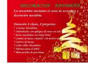 Taller de decoracion y accesorios navideños