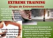 Grupo de entrenamiento
