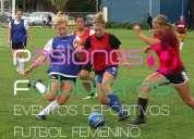 Pasiones futboleras futbol femenino palermo