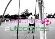 Pasiones futboleras torneos de futbol 5 femenino masculino