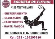 Escuela de futbol club atletico lanus mar del plata