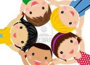 Niñera con experiencia en niños de 2 a 8 años