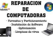 Reparacion de pc - notebook - netbook