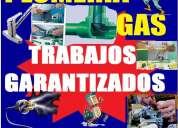 Plomero gasista electricista en capital federal las 24hrs