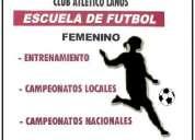 Escuela de futbol femenino club atletico lanus mar del plata