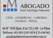 Estudio jurídico en la plata (derecho civil, comercial, laboral y de familia)
