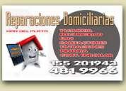 Plomero electricista gasista  mar del plata 4819966 / 155201943