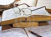 Correcciones - desgrabaciones - redacción de textos