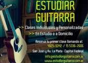 clases de guitarra en caballito tel: 4925-5342