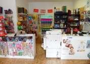 Fondo de comercio en caballito- libreria-jugueteria