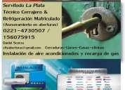 Quilmes refrigeracion tecnico matriculado