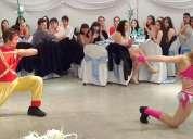 Shows brasileros de baile danza axé para fiestas y eventos