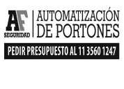 Automatización de portones (corredizos, batientes, levadizos, persianas)
