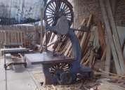 Vendo máquinas industriales de carpintería