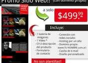 Diseño web con dominio propio