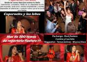 Banda de covers para fiestas animacion baile show musical tributos