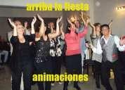 Animaciones de fiestas cumpleaÑos adultos-show-humor y juegos