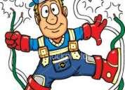 Electricista en villa crespo. instalación de luminarias, ventiladores, cableados, reparaciones,etc.