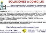 Reparacion y mantenimiento del hogar y oficinas