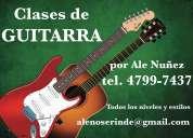 Clases de guitarra en olivos