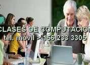 Aprenda pc cursos y clases particulares de computacion facil y rapido - zonas bernal y quilmes