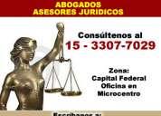Sucesiones abogados en recoleta 15-3307-7029