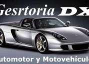 GestorÍa integral del automotor y motos