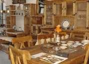 Ladran sÁnchez - muebles de campo-  muebles madera maciza Álamo