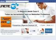 Buscamos emprendedores de negocios. negocio de promoción online
