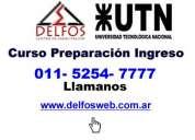 curso de preparacion ingreso utn recoleta - 5254-7777 delfosweb