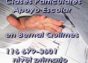 Clases de apoyo escolar, clases particulares de nivel primario. bernal - quilmes 1566793601