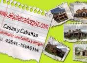 Alquiler carlos paz casas en alquile temporario villa carlos paz