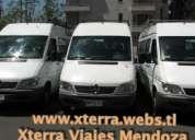 Alquiler de combis en mendoza, van, minibus, travel, las leñas, penitentes, uspallata