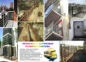 Realizamos construcciones y refacciones todo lo que sea relacionado a casas departamento fabricas ed