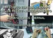 servicio técnico en pc, notebooks, netbooks: su pc està lenta? llàmeme bernal quilmes 1551502656